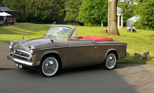 1956 Hillman Minx Audex Convertible SOLD (picture 5 of 6)