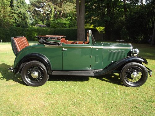 1931 HILLMAN WIZARD COUPE CABRIOLET SOLD (picture 2 of 6)