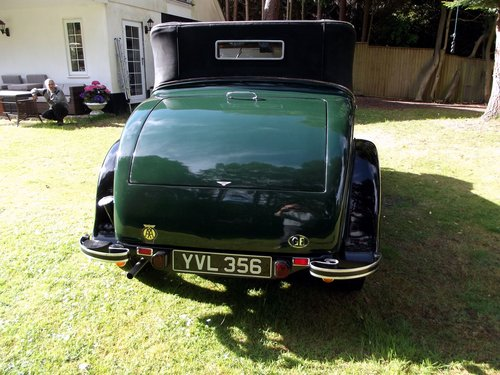 1931 HILLMAN WIZARD COUPE CABRIOLET SOLD (picture 4 of 6)