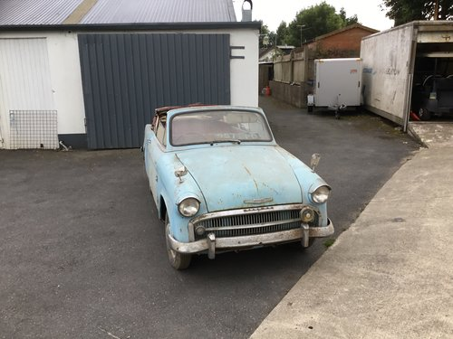 1956 Hillman Minx convertible For Sale (picture 1 of 6)