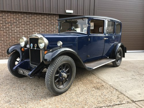 1928 Hillman 14hp Six Light Saloon. SOLD (picture 1 of 6)
