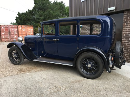 1928 Hillman 14hp Six Light Saloon. SOLD (picture 2 of 6)
