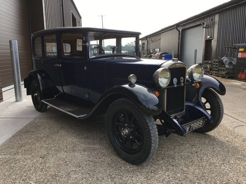 1928 Hillman 14hp Six Light Saloon. SOLD (picture 6 of 6)