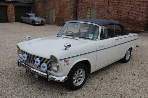 1964 Hillman Super Minx Convertible Stunning Example  For Sale (picture 1 of 6)