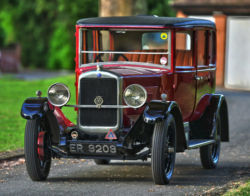 1928 Hillman 14hp Safety Saloon For Sale (picture 1 of 6)