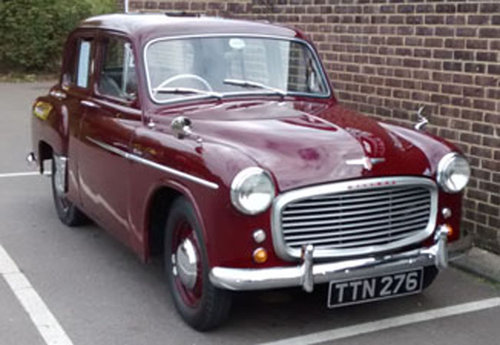 1954 Cute Hillman Minx Mk.7 SOLD (picture 1 of 6)