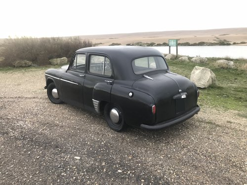Lovely MOTd 1955 hillman minx saloon drive away SOLD (picture 4 of 6)