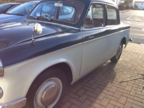1959 hillman minx for sale SOLD (picture 1 of 6)