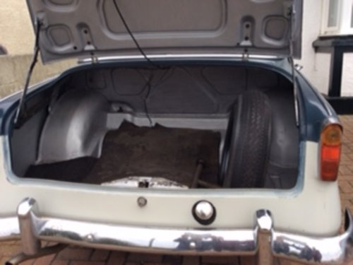 1959 hillman minx for sale SOLD (picture 4 of 6)