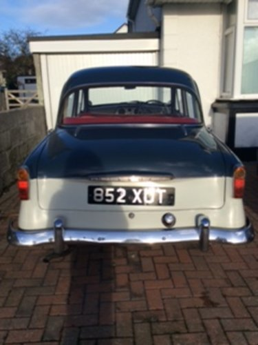1959 hillman minx for sale SOLD (picture 6 of 6)