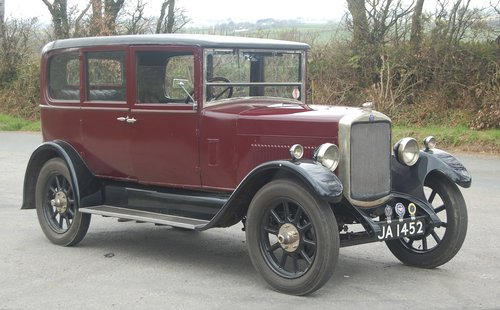 1928 stately vintage Hillman 14 saloon SOLD (picture 5 of 6)