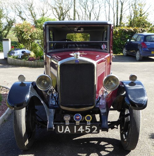1928 stately vintage Hillman 14 saloon SOLD (picture 6 of 6)