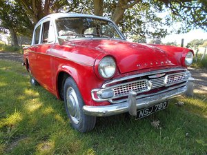 Hillman Minx 1600 1962 - To be auctioned 26-04-2019 For Sale by Auction