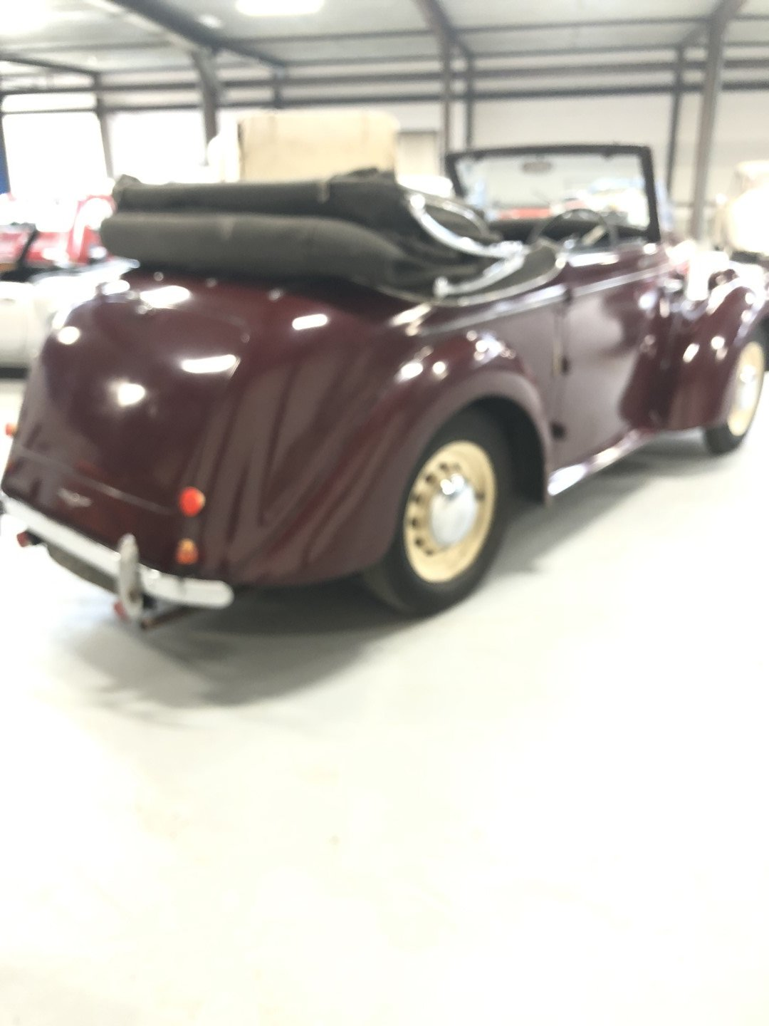 1947 HILLMAN DROPHEAD CONVERTIBLE SOLD (picture 6 of 6)