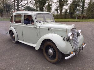 **REMAINS AVAILABLE** 1936 Hillman Minx For Sale by Auction