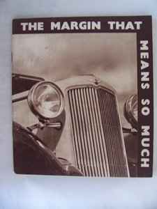 HILLMAN PROMOTIONBOOKLET 1935 For Sale