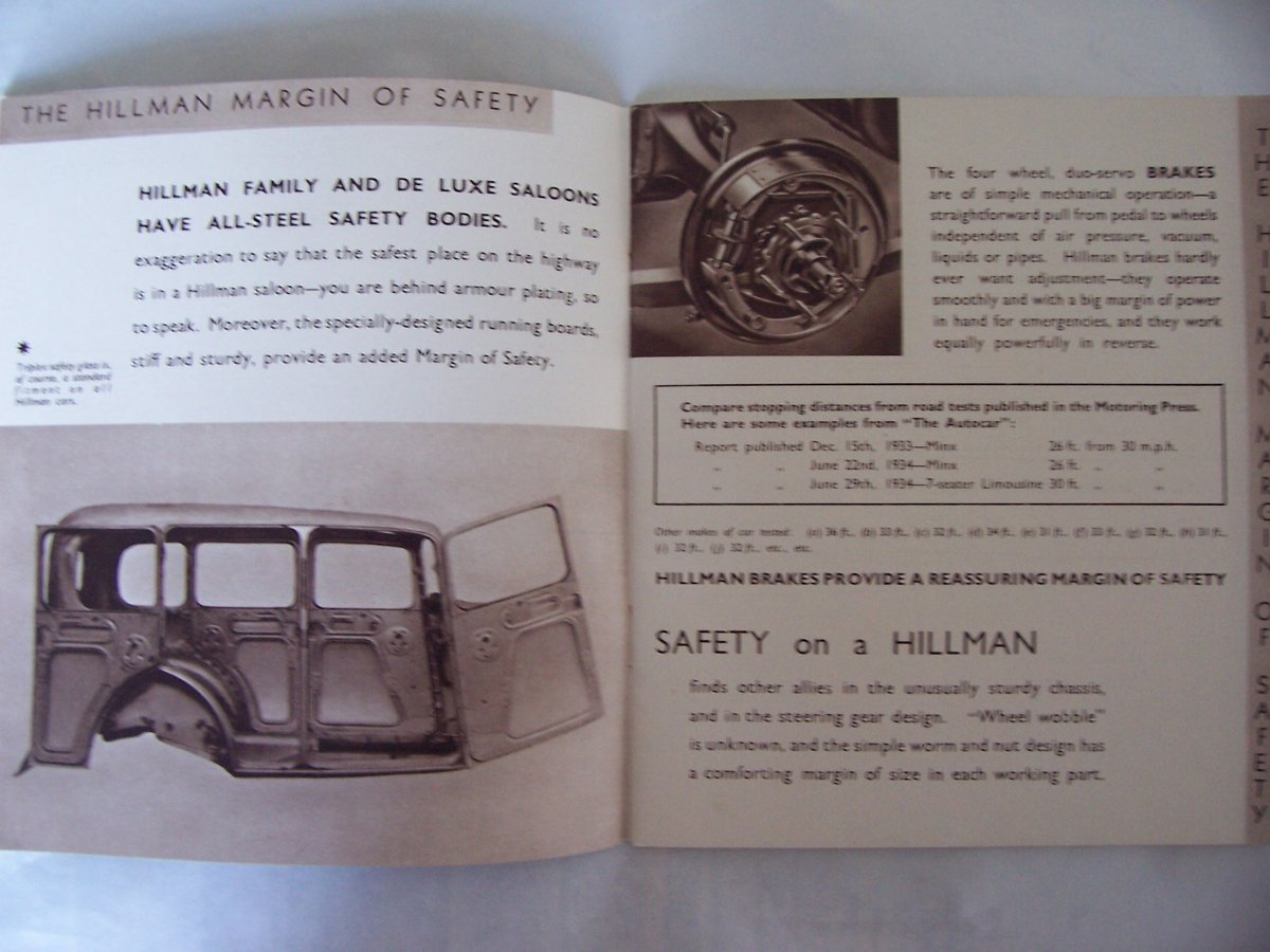 HILLMAN PROMOTIONBOOKLET 1935 For Sale (picture 2 of 6)