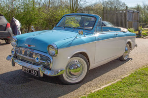 1959 Hillman Minx Convertible - Great Condition - on The Market SOLD by Auction