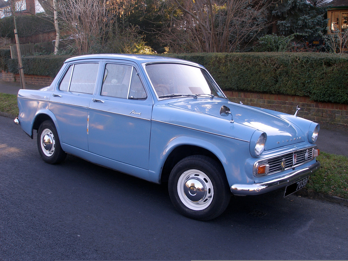 Stunning 1963 Hillman Minx Full Working Condition For Sale (picture 1 of 6)