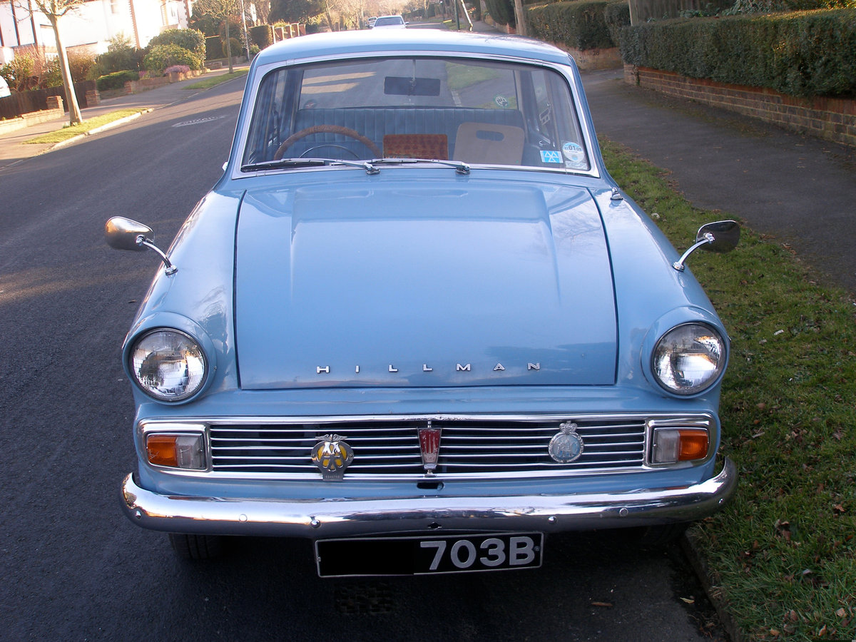 Stunning 1963 Hillman Minx Full Working Condition For Sale (picture 3 of 6)
