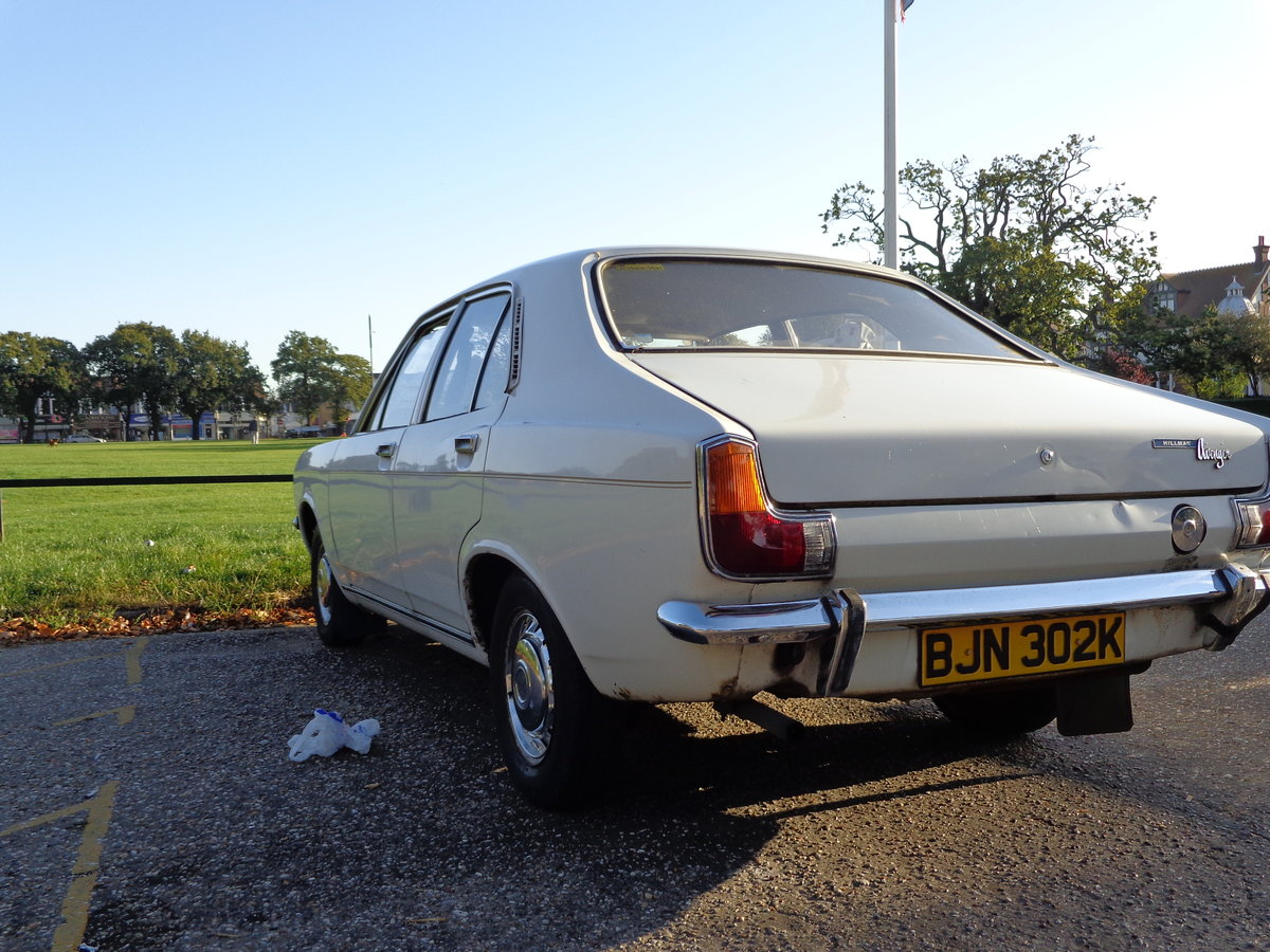 1971 Stolen: Hillman Avenger For Sale (picture 3 of 3)