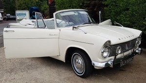 1965 Hillman Super Minx Convertible Very Rare Car For Sale