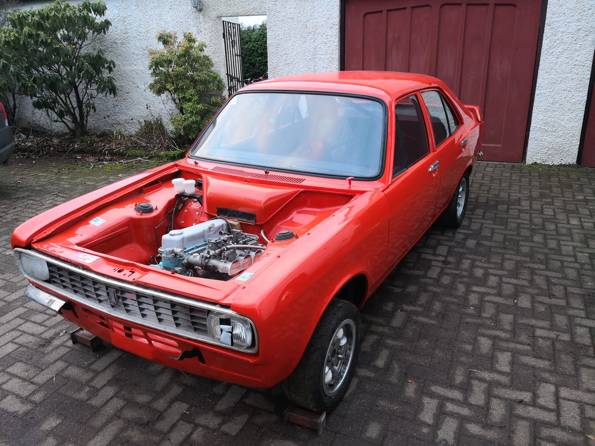 1974 Hillman Avenger Historic Rally Project For Sale (picture 1 of 6)