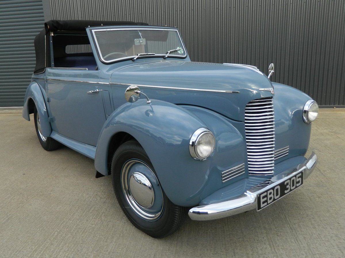 1948 HILLMAN MINX 1.2 DROPHEAD COUPE For Sale (picture 1 of 6)