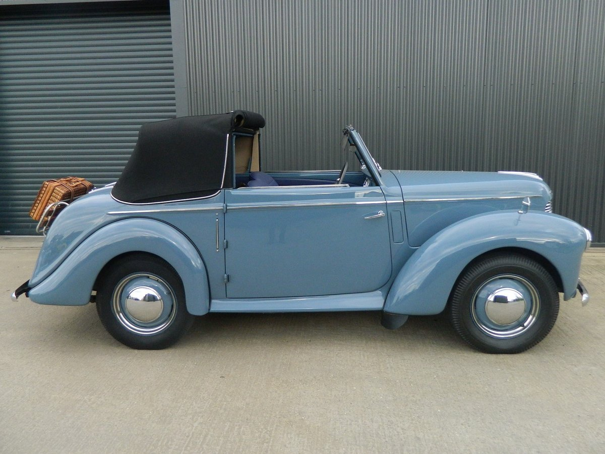 1948 HILLMAN MINX 1.2 DROPHEAD COUPE For Sale (picture 2 of 6)