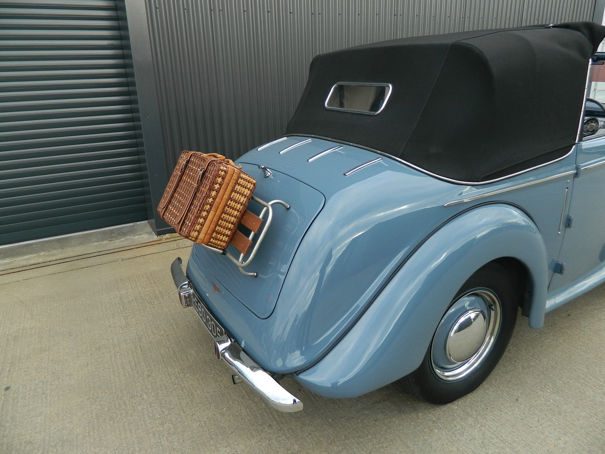 1948 HILLMAN MINX 1.2 DROPHEAD COUPE For Sale (picture 3 of 6)