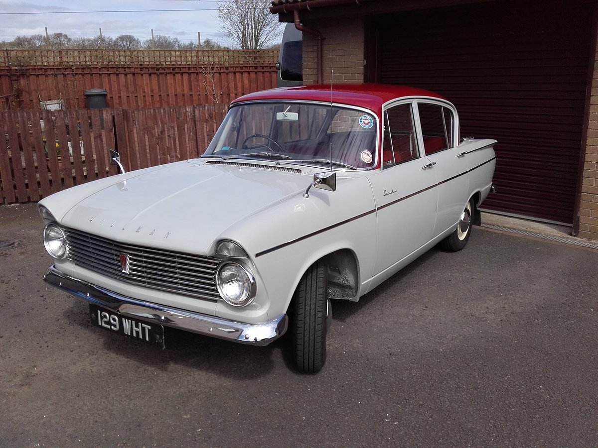 Hillman Super Minx 1964, genuine 26,000 miles. For Sale (picture 1 of 6)