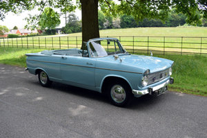1963 Hillman Super Minx MkII Convertible For Sale by Auction