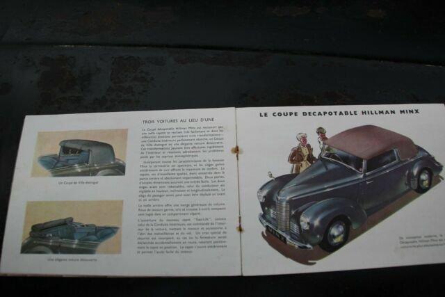 Hillman Minx Cabrio, 1948, Export Model LHD, 3.900,- Euro For Sale (picture 6 of 6)