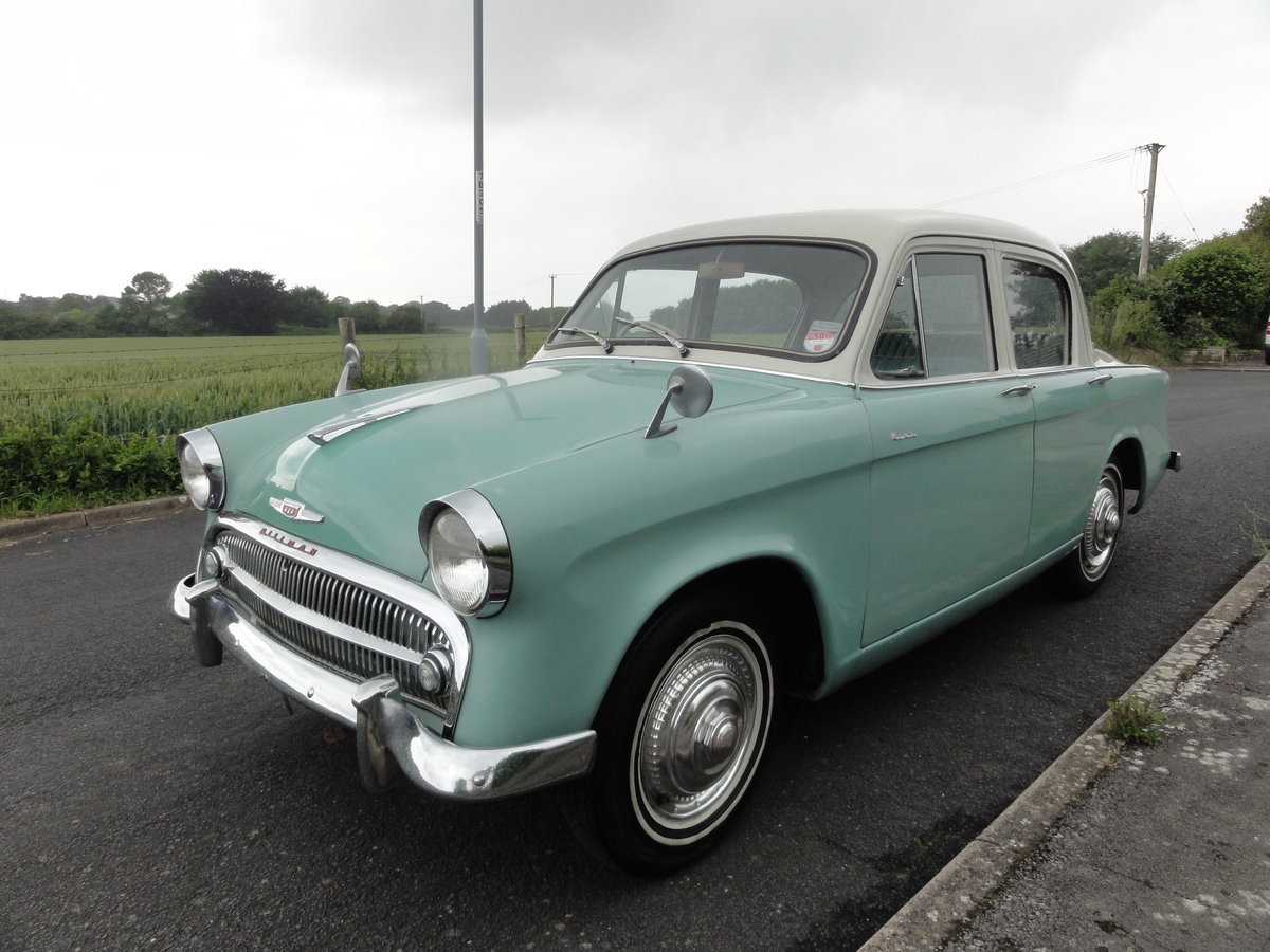 1957 Hillman Minx Series I Saloon For Sale (picture 1 of 6)