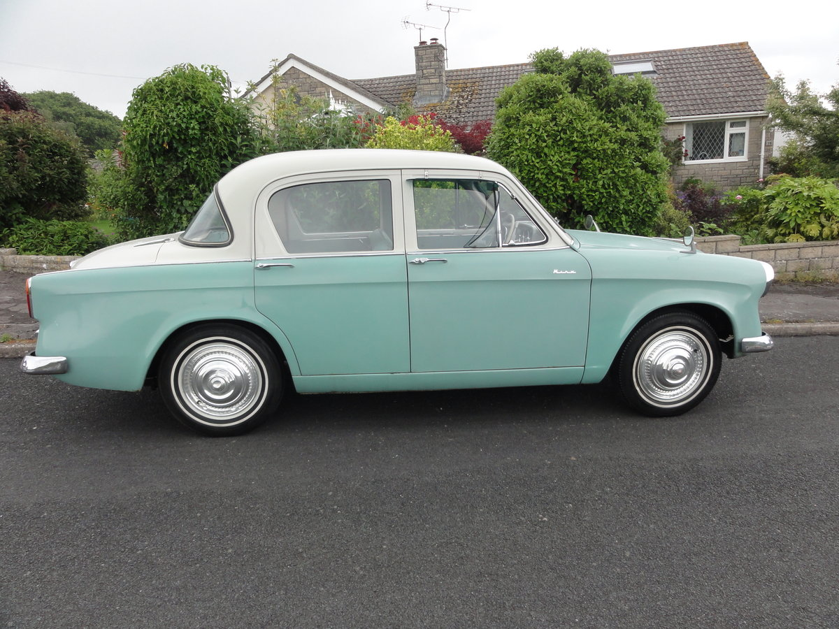 1957 Hillman Minx Series I Saloon For Sale (picture 3 of 6)