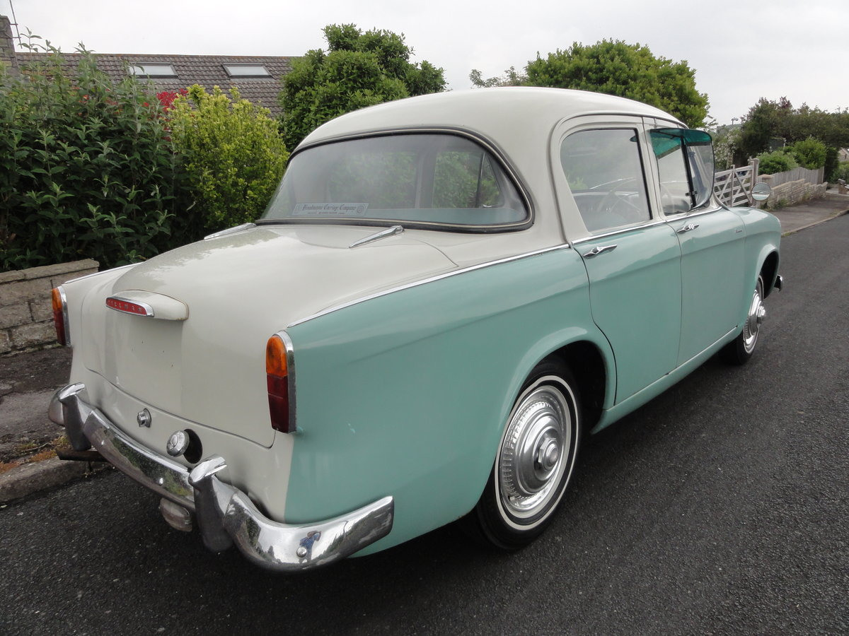 1957 Hillman Minx Series I Saloon For Sale (picture 4 of 6)
