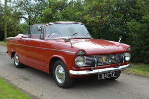 1963 Hillman Minx COnvertible For Sale by Auction