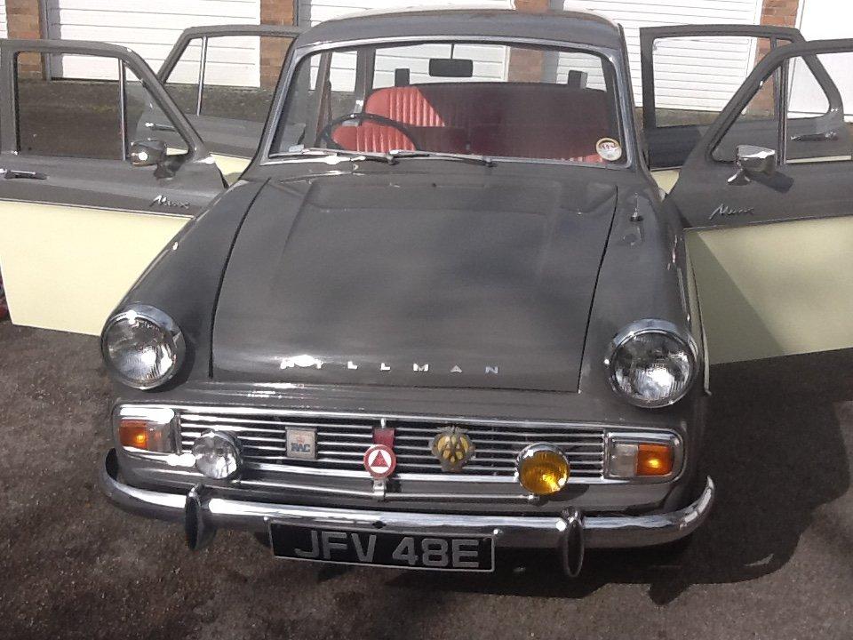1967 Hillman minx Auto For Sale (picture 4 of 6)