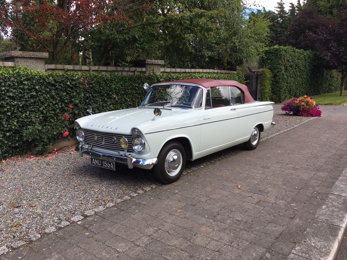 1963 Hillman Super Minx convertible  SOLD (picture 1 of 6)