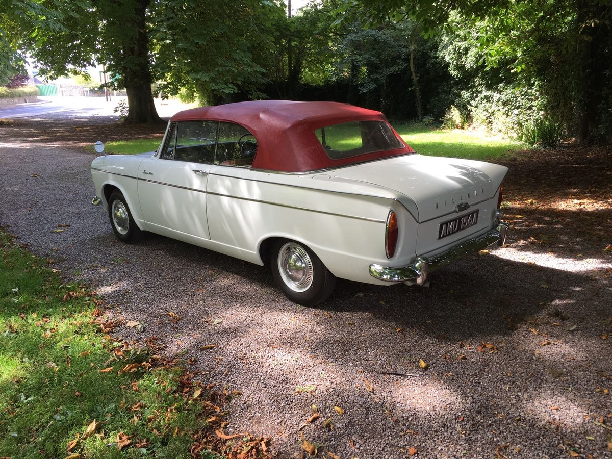 1963 Hillman Super Minx convertible  SOLD (picture 2 of 6)