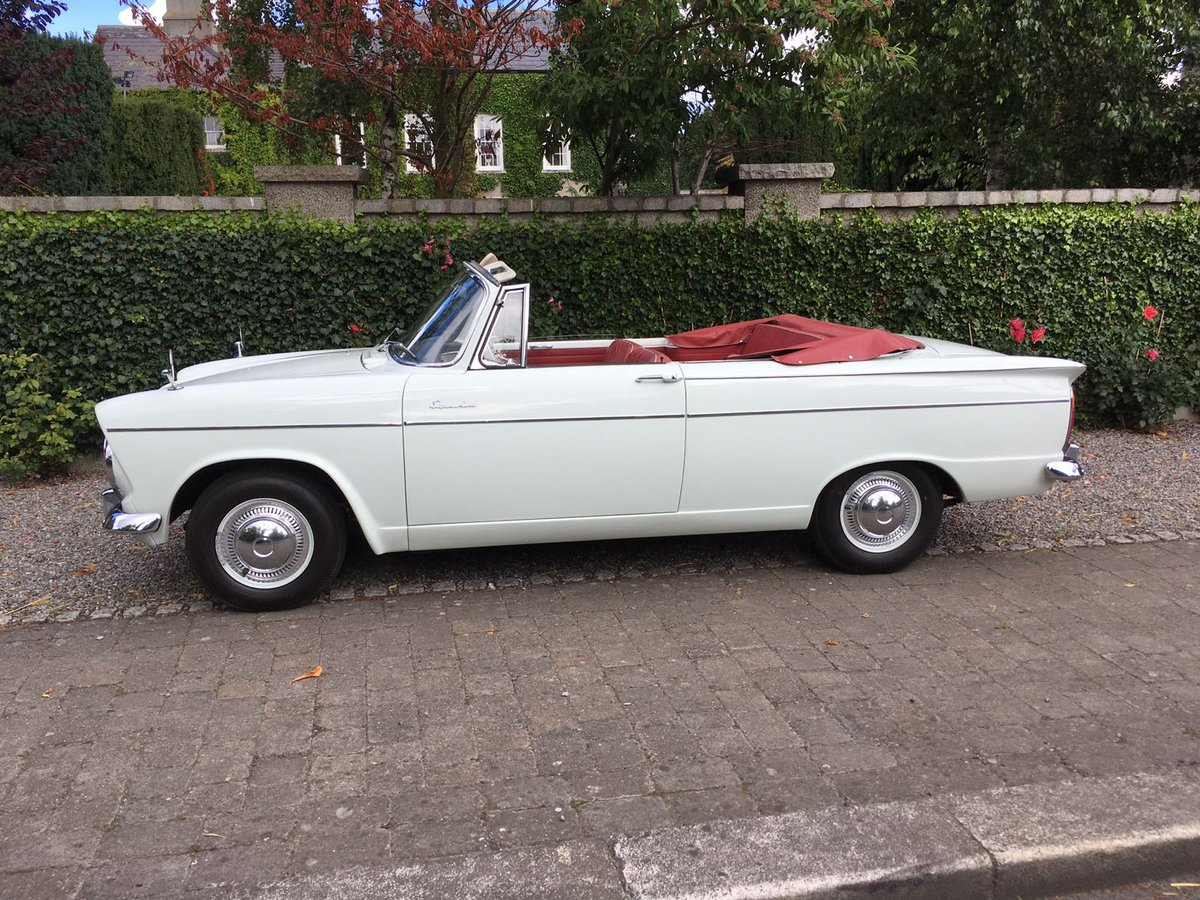 1963 Hillman Super Minx convertible  SOLD (picture 6 of 6)