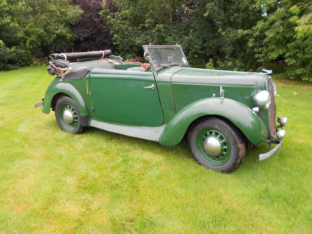 1937 Hillman minx foursome drophead coupe For Sale (picture 1 of 6)