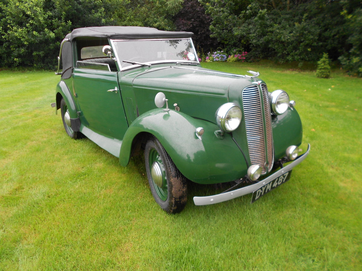 1937 Hillman minx foursome drophead coupe For Sale (picture 2 of 6)