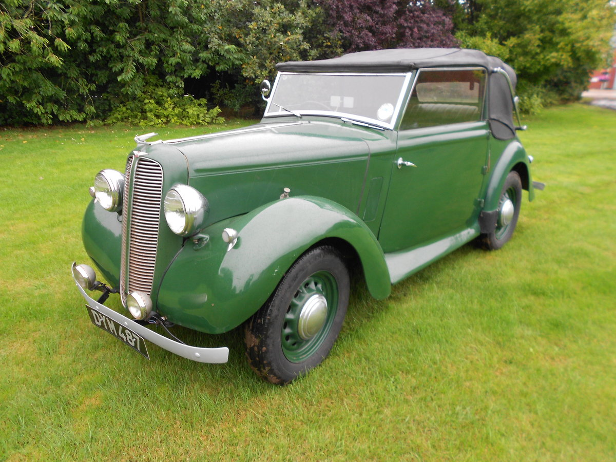 1937 Hillman minx foursome drophead coupe For Sale (picture 4 of 6)