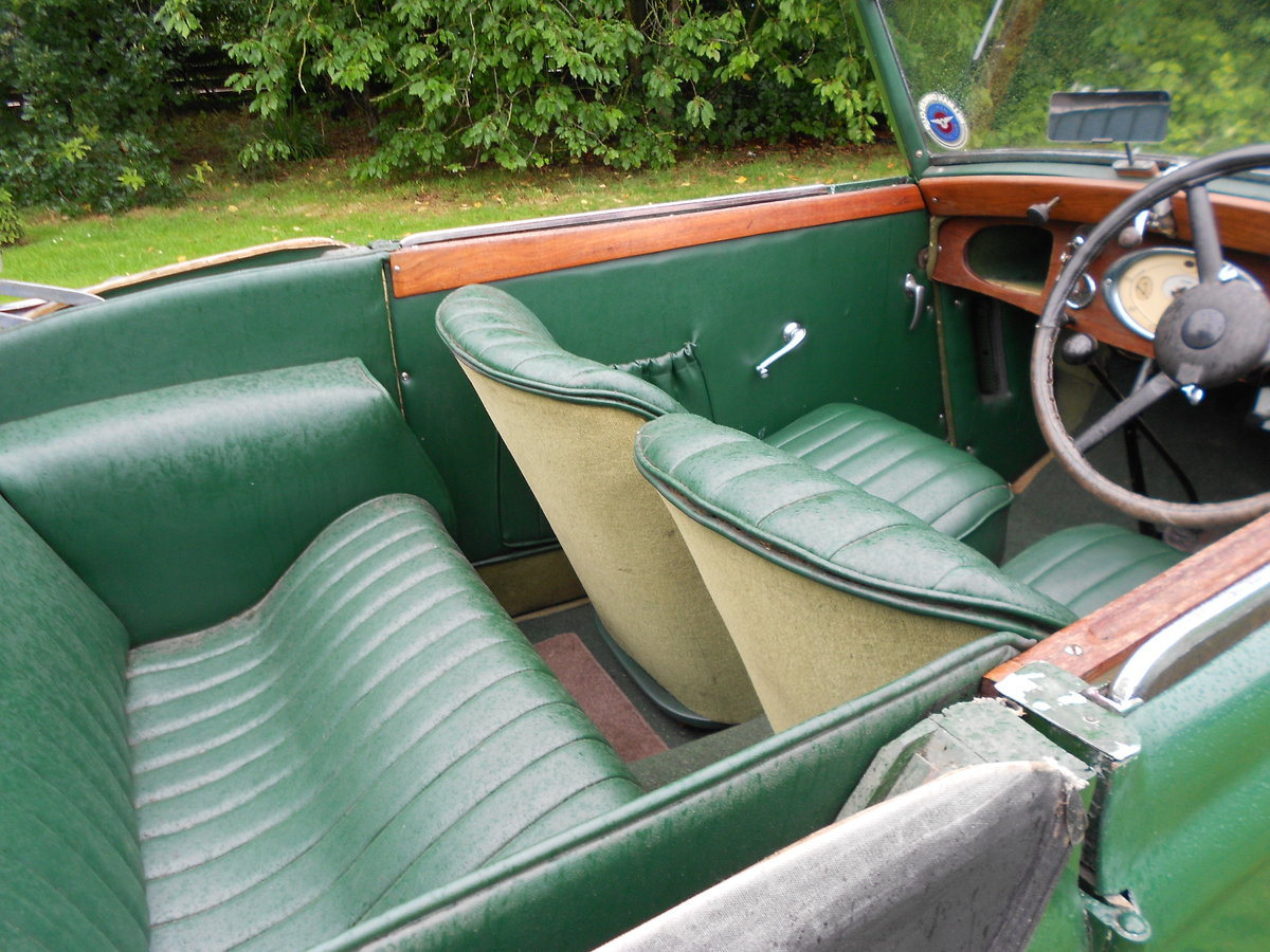 1937 Hillman minx foursome drophead coupe For Sale (picture 5 of 6)