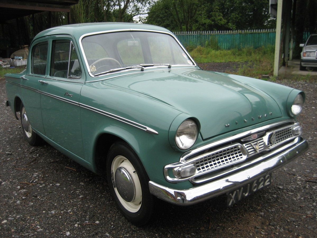 1961 Hillman Minx 1500, 32000 mls only from new For Sale (picture 1 of 6)