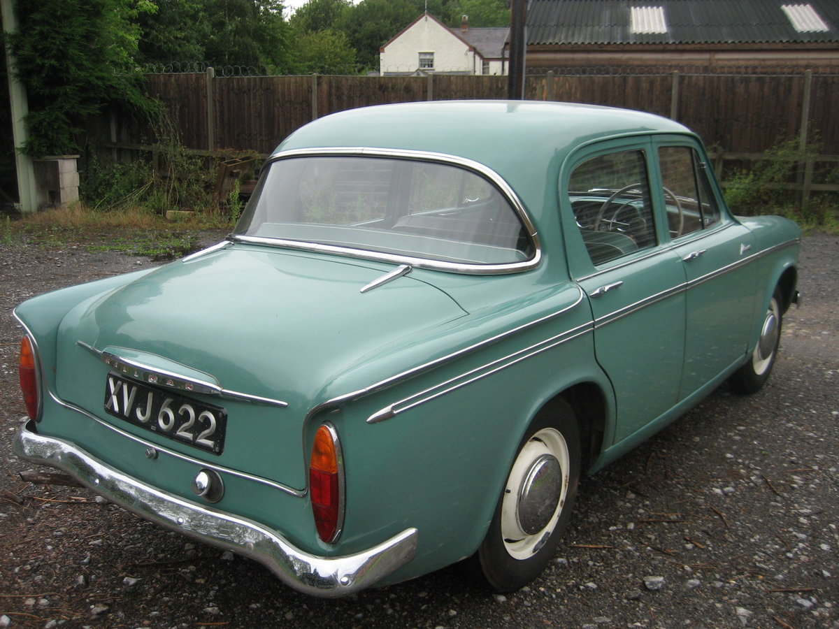 1961 Hillman Minx 1500, 32000 mls only from new For Sale (picture 2 of 6)