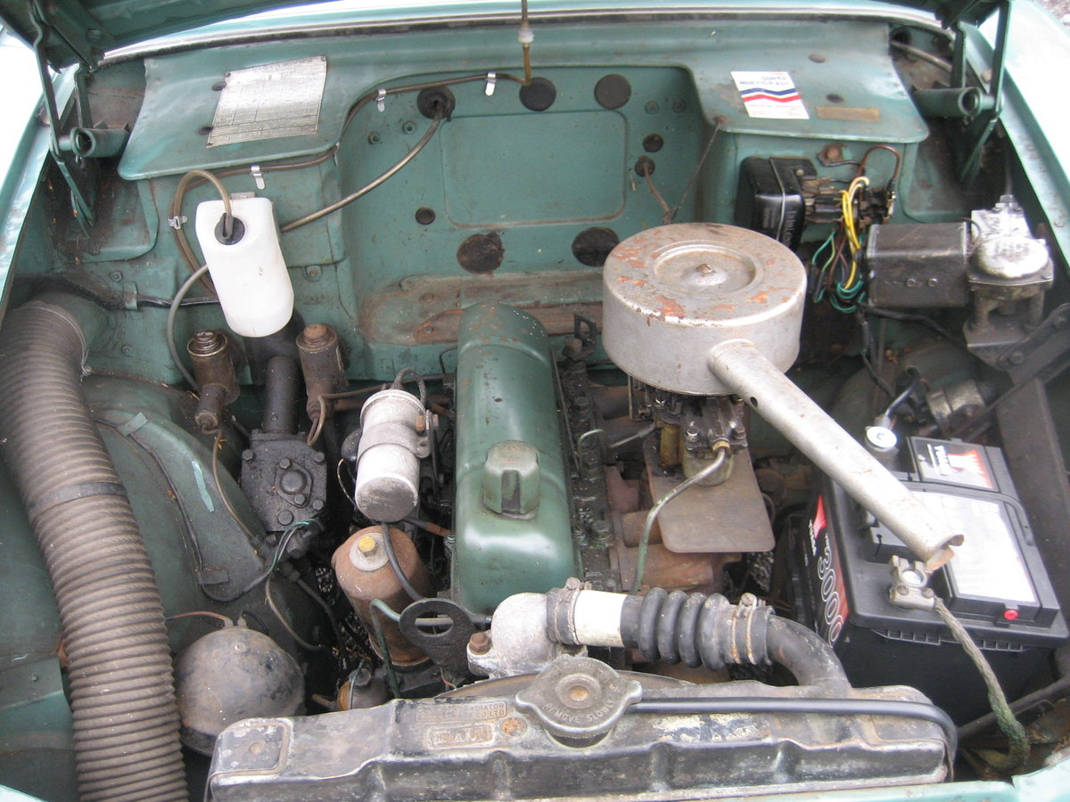 1961 Hillman Minx 1500, 32000 mls only from new For Sale (picture 4 of 6)