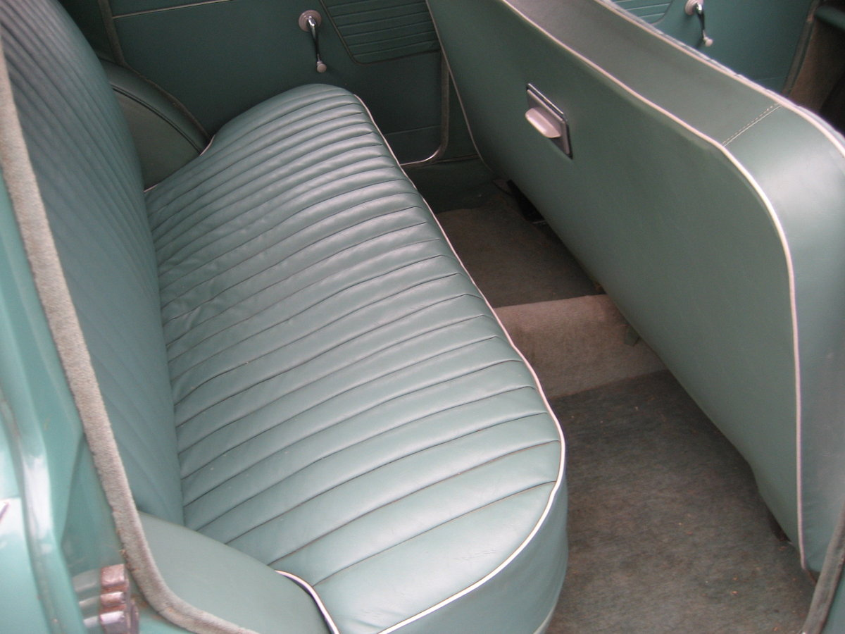 1961 Hillman Minx 1500, 32000 mls only from new For Sale (picture 6 of 6)