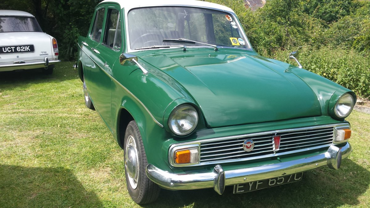 1965 Hillman minx SOLD (picture 1 of 6)